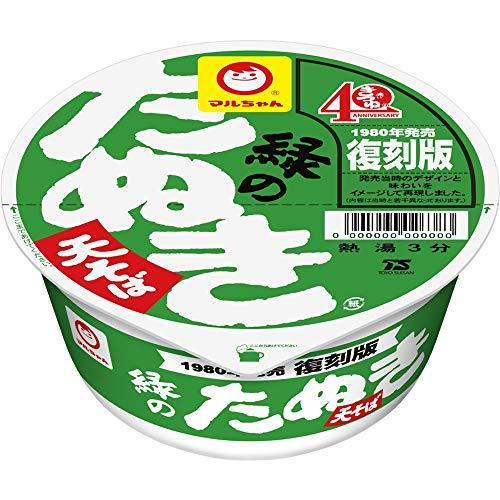 マルちゃん 復刻版 緑のたぬき天そば 99g×12個...
