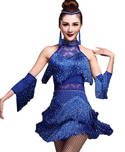 193e2c180f2fd ラテンダンス 衣装 ダンスウエア 社交ダンスドレス 社交ダンスラテンドレス ステージ衣装 ワンピース スパンコール