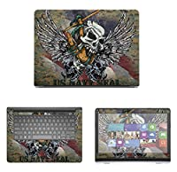 Decalrus - Protective Decal Skin skins Sticker for Dell Inspiron i5447 (14 Screen) case cover wrap DEinspironi5447-162