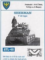 フリウルモデル 1/35 金属可動履帯 シャーマン T 48 タイプ用 金属パーツ ATL-48