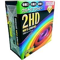 日立マクセル 3.5インチ2HD フロッピーディスク 10枚 256フォーマット MF2-256HD