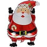 パーティーパーク クリスマス MERRY CHRISTMAS サンタクロース クリスマスツリー パーティー デコレーション バルーン セット 単品 デザイン(選べる)飾り付け 装飾 行事 ガスなし (サンタクロース)