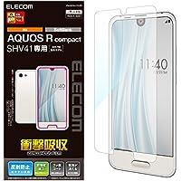 エレコム AQUOS R compact フィルム  SHV41 (au) (softbank) 衝撃吸収 指紋防止 反射防止 PM-SHV41FLFP