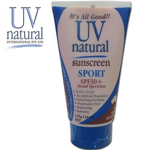 UV Natural 【UVナチュラル】 SPORT SPF30+ 125g 【100%ナチュラル成分・日焼け止め】