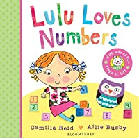 Lulu Loves Numbers by Camilla Reid(2015-03-24)