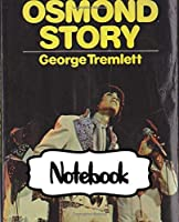 """Notebook: The Osmonds American Family Music Group 1960s Osmond Brothers R&B Pop Disco, Large Notebook for Drawing, Doodling or Writting: 110 Pages, 7.5"""" x 9.25"""". Kraft Cover Notebook ( Blank Paper Drawing and Write Notebooks )"""