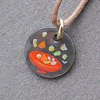 黒蝶貝のネックレスこづゆ(紐タイプ)【クリックポストにて発送】