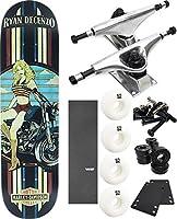 "DarkstarスケートボードHarley Davidsonスケートボード8"" x 31.6"" Complete Skateboard–7項目のバンドル"