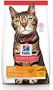 Hill's Science Diet Adult Light Chicken Recipe Dry Cat Food 2kg
