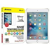 Amzer Kristal強化ガラスHDスクリーンプロテクターfor Apple iPad Mini 4( amz98047)