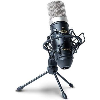 マランツプロ コンデンサーマイクロホン ウィンドスクリーン・スタンド・XLRケーブル付属 MPM-1000