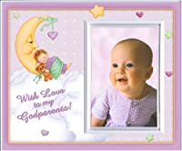 With Love to My Godparents (Girl) Picture Frame Gift [並行輸入品]