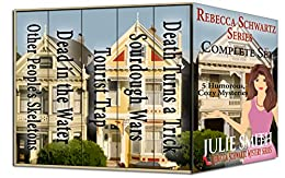 Rebecca Schwartz Complete Set: Five Funny Cozy Mysteries (The Rebecca Schwartz Series) by [Smith, Julie]