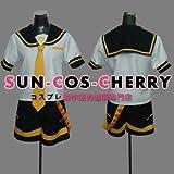 【サイズ選択可】コスプレ衣装 P-061 VOCALOID 鏡音レン Len 公式服 女性Mサイズ