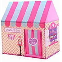 Girlsインドアアウトドアテントテント再生Palace Kids Ice Cream and Bakery Shop Playhouse (ピンク)