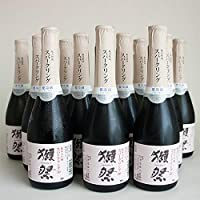 獺祭 純米大吟醸 発泡にごり酒 スパークリング 50 シャンパン瓶 360ml 12本 山口県 旭酒造 日本酒