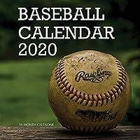 Baseball Calendar 2020: 16 Month Calendar