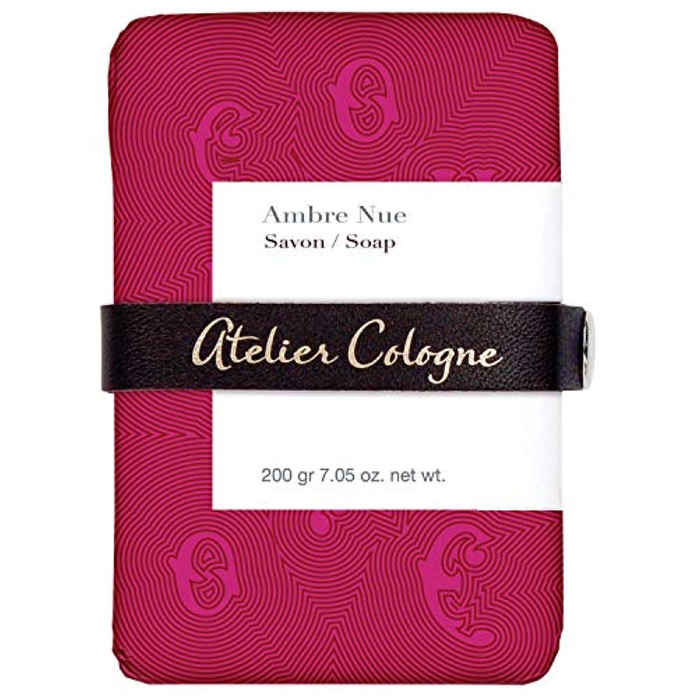 安定しましたマイクロ格納[Atelier] アトリエアンブレNue石鹸200グラム - Atelier Ambre Nue Soap 200g [並行輸入品]