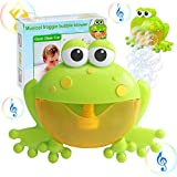 Kingtree Baby Bath Bubble Toy Bathtub Automatic Musical Bubble Blower with 12 Nursery Rhyme Pure Music, Gift Box Package