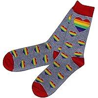 Gay Pride Rainbow Socks for Men or Women - LGBT Pride Gift