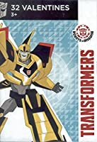 Transformers Robots in Disguise 32 count Kids Valentine Day Cards [並行輸入品]