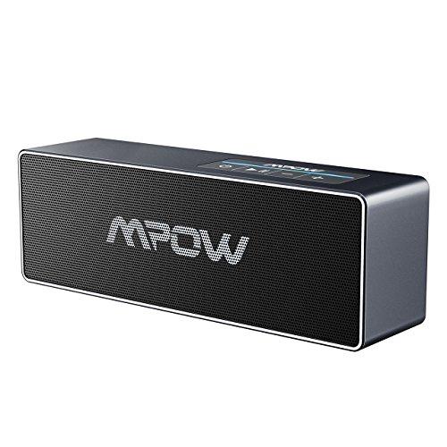 Mpow bluetooth4.1スピーカー ワイヤレススピーカー 26W出力 iOS&Android両対応【8時間連続再生/ハンズフリー通話/3.5mmオーディオ接続/18ヶ月保証付き】