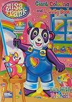 リサ・フランク・ジャイアントカラーリングandアクティビティブック~ Fun with Friends–Bear Painting