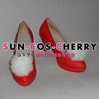 【サイズ選択可】コスプレ靴 ブーツ Z1-087 VOCALOID Project DIVA-f Sweet Devil 初音ミク miku 女性24CM