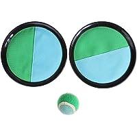 Greensun TM 1セットプラスチックSucker Stickyボールラケット親子Tossキャッチボールゲームアウトドアスポーツ玩具子供男の子女の子スポーツFun