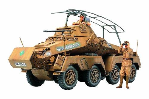 1/35 ミリタリーミニチュアシリーズ No.297 1/35 ドイツ8輪重装甲車 Sd.Kfz.232 アフリカ軍団