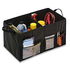 車用折り畳み式収納ボックス 収納ケース 整理箱 トランクボックス お買い物を快適に 整理整頓 収納上手 大容量66×33×33cm