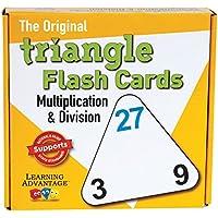 Learning Advantage (3パック) 三角形フラッシュカード マルチ/ディブ