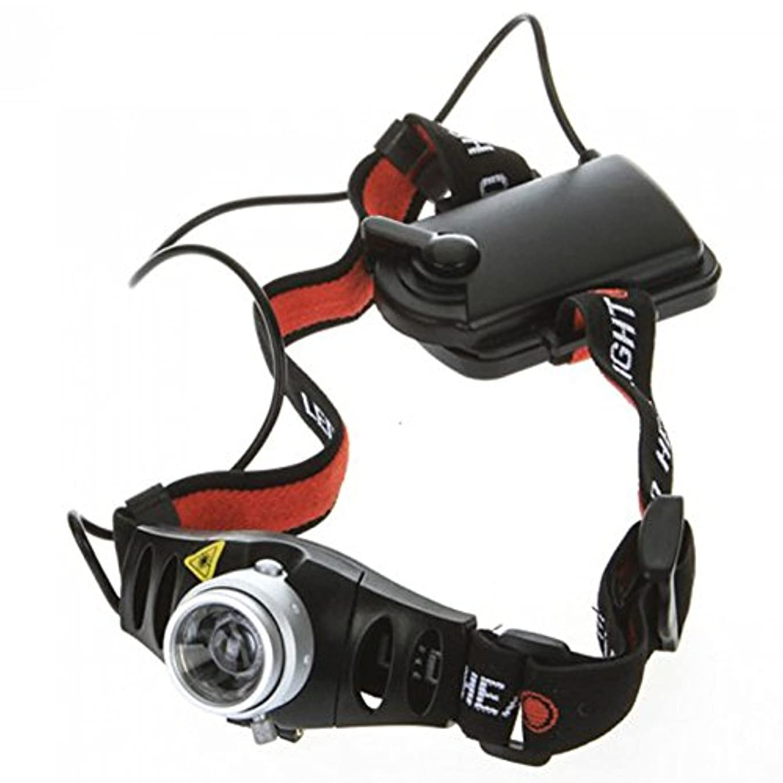 プレミア扱いやすいハリケーン1500lmXPE LEDズームヘッドライトヘッドランプ