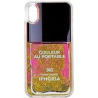 [アイフォリア]Amazon公式 正規品 iPhone X対応 Nailpolish Stars Glitter for iPhone X 14980