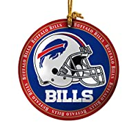 (Buffalo Bills) - Topperscot by Boelter Brands NFL Ceramic Plate Ornament