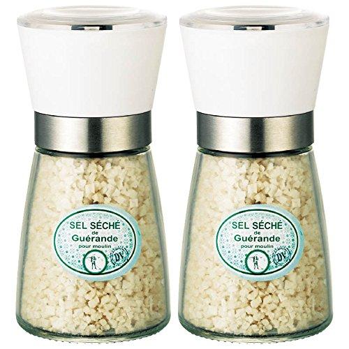 フランス 土産 ゲランドの塩 ミル付 2個セット (海外旅行 フランス お土産)