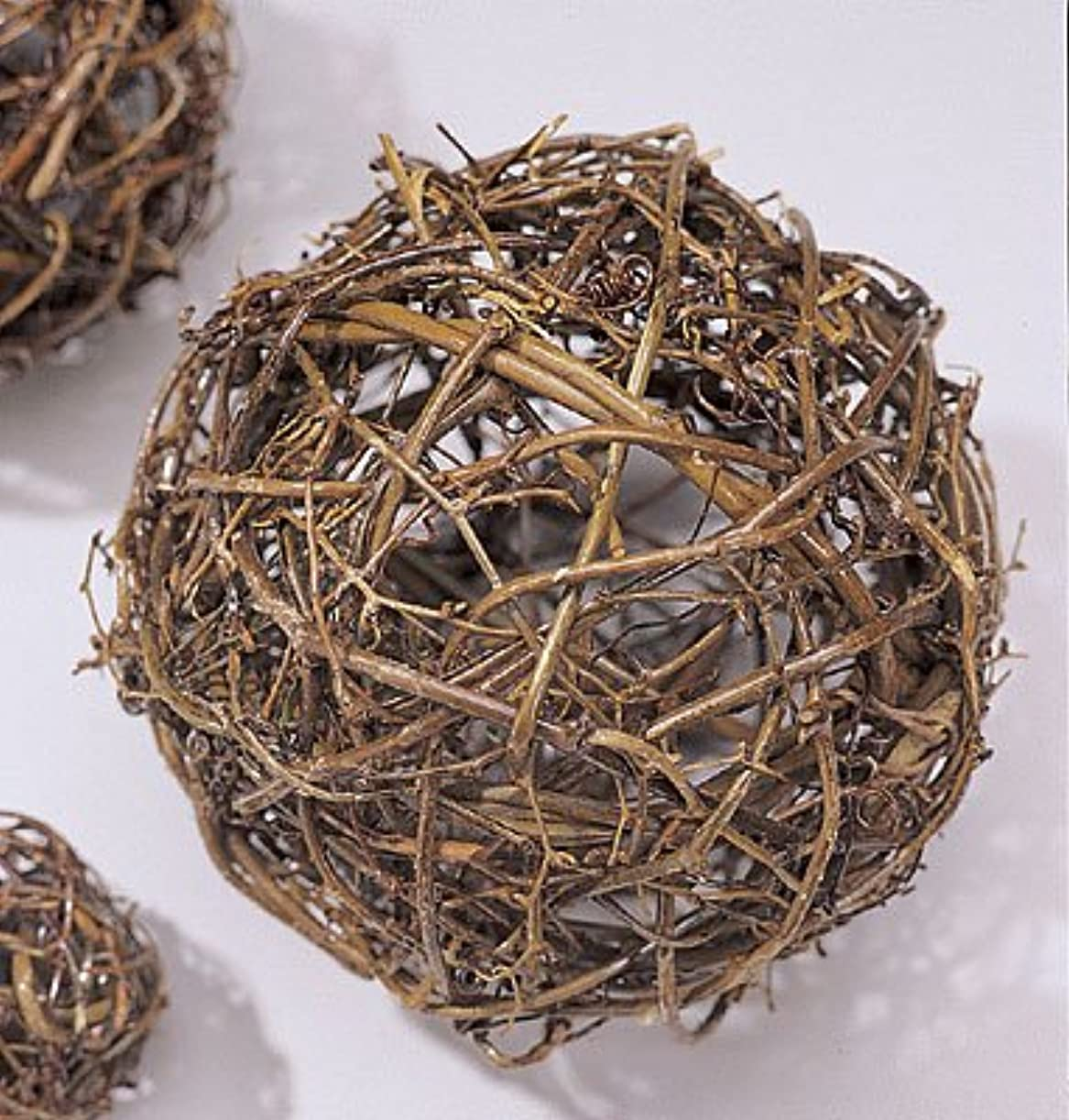 回想ゲート成り立つ自然Grapevineトピアリーボール6、8、10、12、16、18、24、30、36インチサイズワイヤフレーム Single 30 inch ball