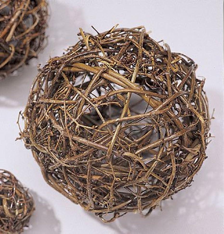できる明確に暴行自然Grapevineトピアリーボール6、8、10、12、16、18、24、30、36インチサイズワイヤフレーム Single 30 inch ball