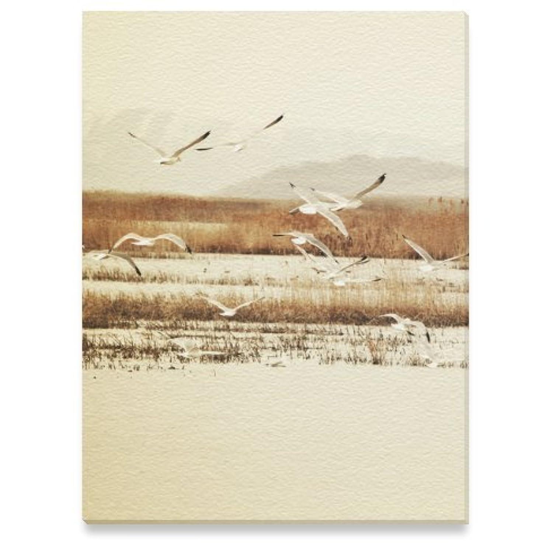 (ArtsAdd) キャンバス プリント アート ポスターフレーム エレガントスタイルインテリア Canvas Print 12x16 インチ Nautical Flight