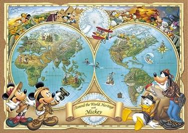 ディズニー  iPhone/Androidスマホ壁紙(freeサイズ)-1 - ミッキーの世界地図