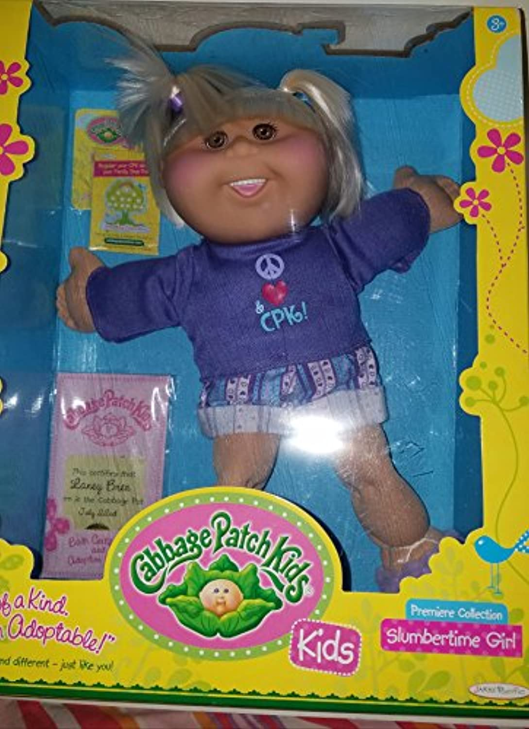 Slumbertime Girl Cabbage Patch Kid (Straight Blonde Hair)