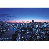 四季の詩 300ピース 夜景に浮かぶ富士山 (東京) (26cm×38cm、対応パネルNo.3)