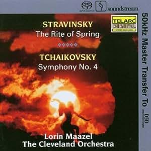 Rite of Spring / Symphony 4 (Hybr)