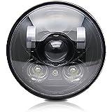Colight ハーレー LEDヘッドライト 5.75インチ Hi/50W Lo/30W IP...