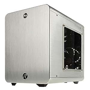 RAIJINTEK METISシリーズ キューブ型アルミニウム製Mini-ITXケース 0R200008 (METIS SILVER)