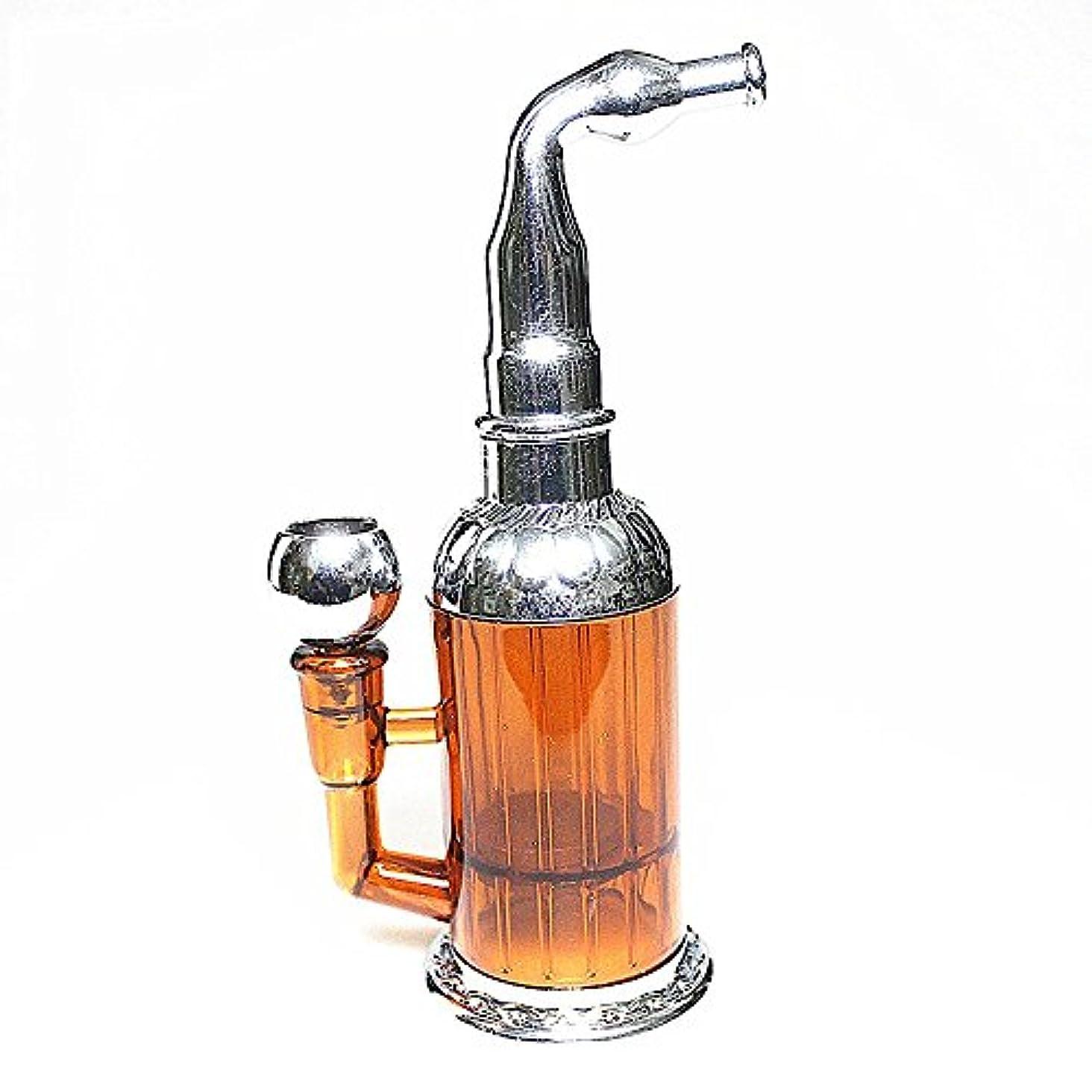流行している二週間ほかにボトルウォーターパイプポータブルミニ水タバコの雑草たばこ喫煙パイプの健康金属管マグネットフィルター濾過
