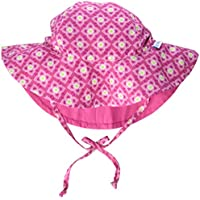 i play. Mix and Match Reversible Brim Sun Protection Hat for 2 to 4 Year Kids, Hot Pink,