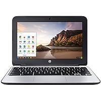 HP Chromebook 11 G3 Chrome OS(日本語版) Celeron 2.16-2.41GHz 4GB SSD(eMMC)16GB 光学ドライブ非搭載 無線LAN 802.11ac/a/b/g/n Bluetooth USB3.0 HDMI 720pHDwebカメラ SDカードスロット 11.6型ワイド液晶搭載ノートパソコン グローバルワランティモデル 重さ約1.28kg バッテリー駆動時間最大約8時間
