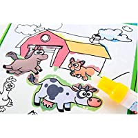 魔法水図面帳マジックペン動物ペイントでカラーリングブックDoodleボードJuguetes for Children教育図面おもちゃ、品質、楽しい
