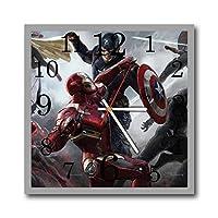 The Avengers (アベンジャーズ) 11.8'' 掛け時計 あなたの友人やご家族のための最高のプレゼントです。プラスチック製